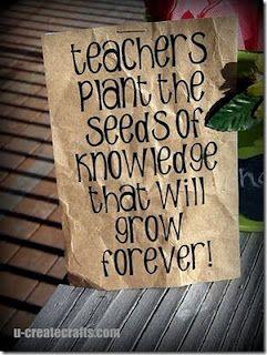 Gardening Gift {teacher appreciation} #teachergifts