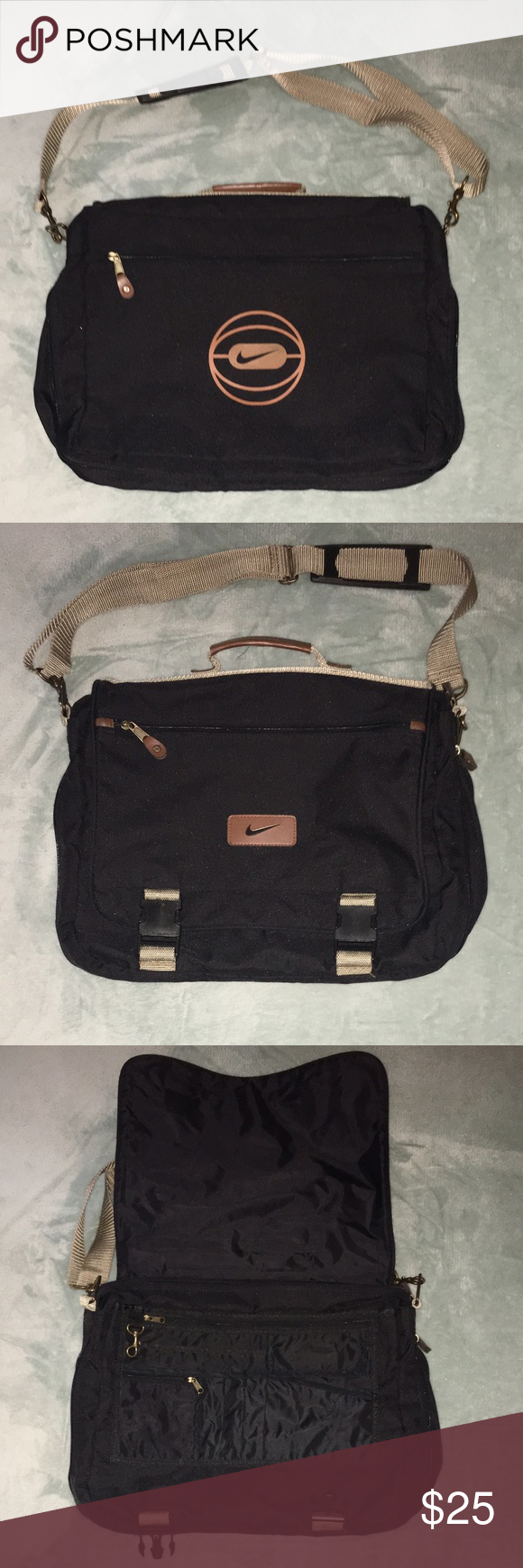 9ab8a65045d8 Nike Messenger Bag Laptop Computer School Nike Messenger Bag! Please see  pictures for