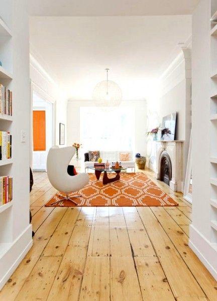 Modern Yet Elegant Livingroom Simple Wood Floors Contemporary Interior Design Farmhouse Flooring Flooring House Design