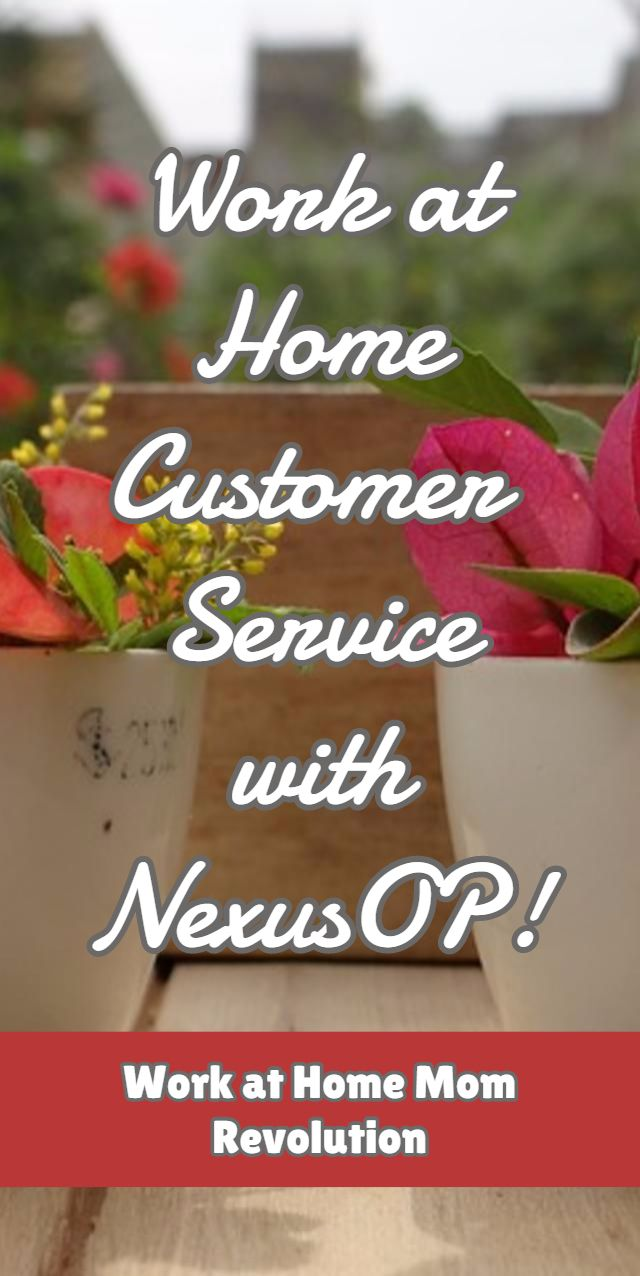 Nexusop work from home pay