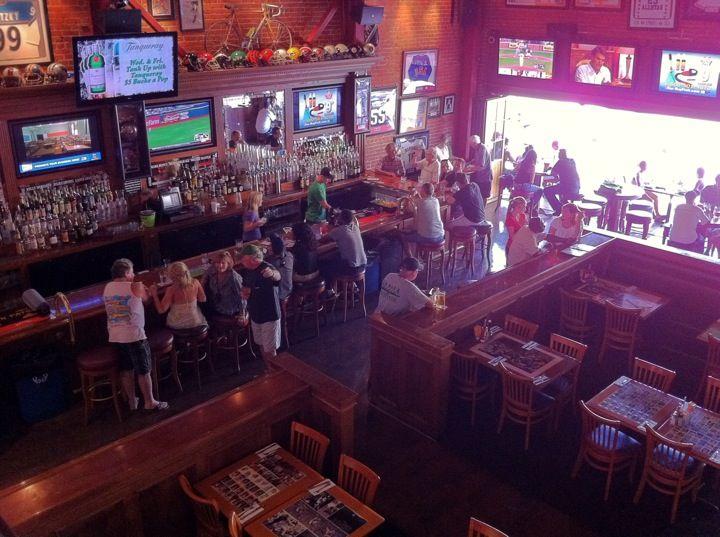 Legends Sports Bar & Restaurant in Long Beach, CA: They set up a ...
