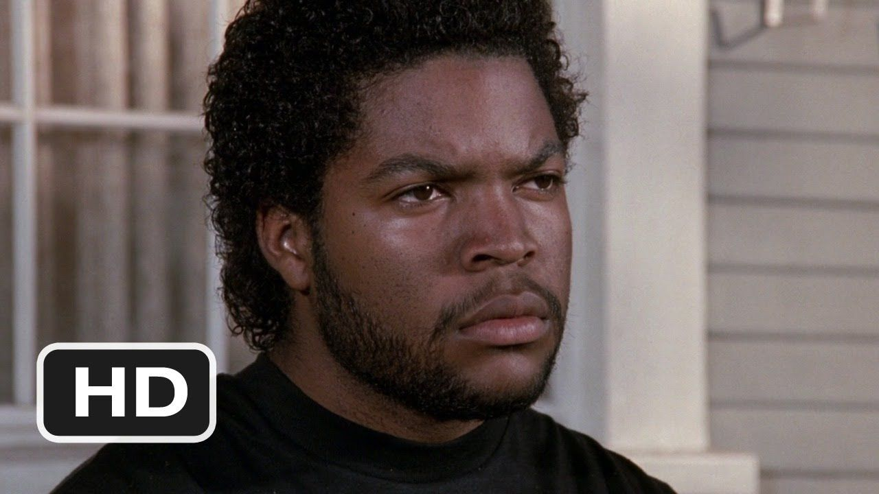 """""""Don't know don't show or don't care what's going on in the hood"""" - Ice Cube in """"Boyz n the Hood"""""""