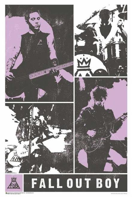 Fall Out Boy Promo Poster For Take This To Your Grave Concert Tour Fall Out Boy Poster Fall Out Boy Tour Posters