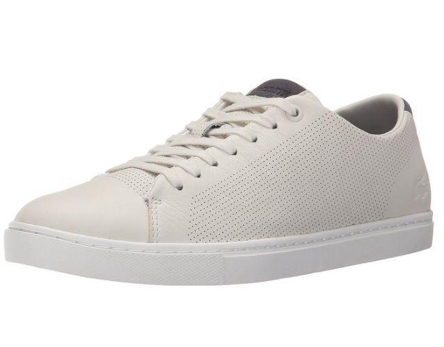 Buty Meskie Lacoste Showcourt Off White 40 46 Sale 7641619253 Oficjalne Archiwum Allegro Lacoste Lacoste Men White Sneaker