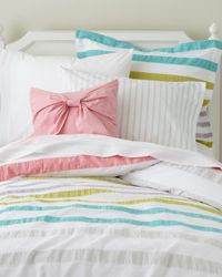 Pastel Striped Comforter Collection