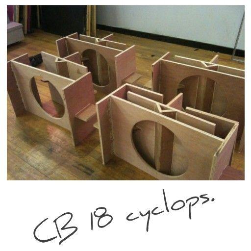 CB 18 cyclops  | Audio | Speaker plans, Speaker box design, Diy speakers