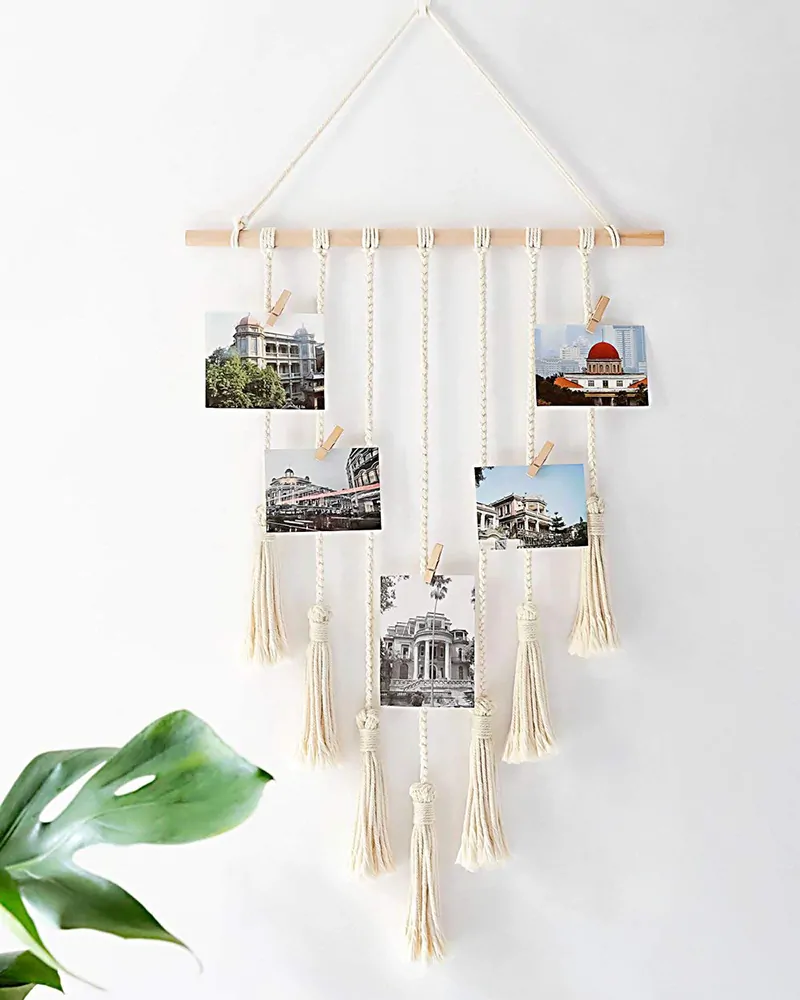 Wall hanging storage items