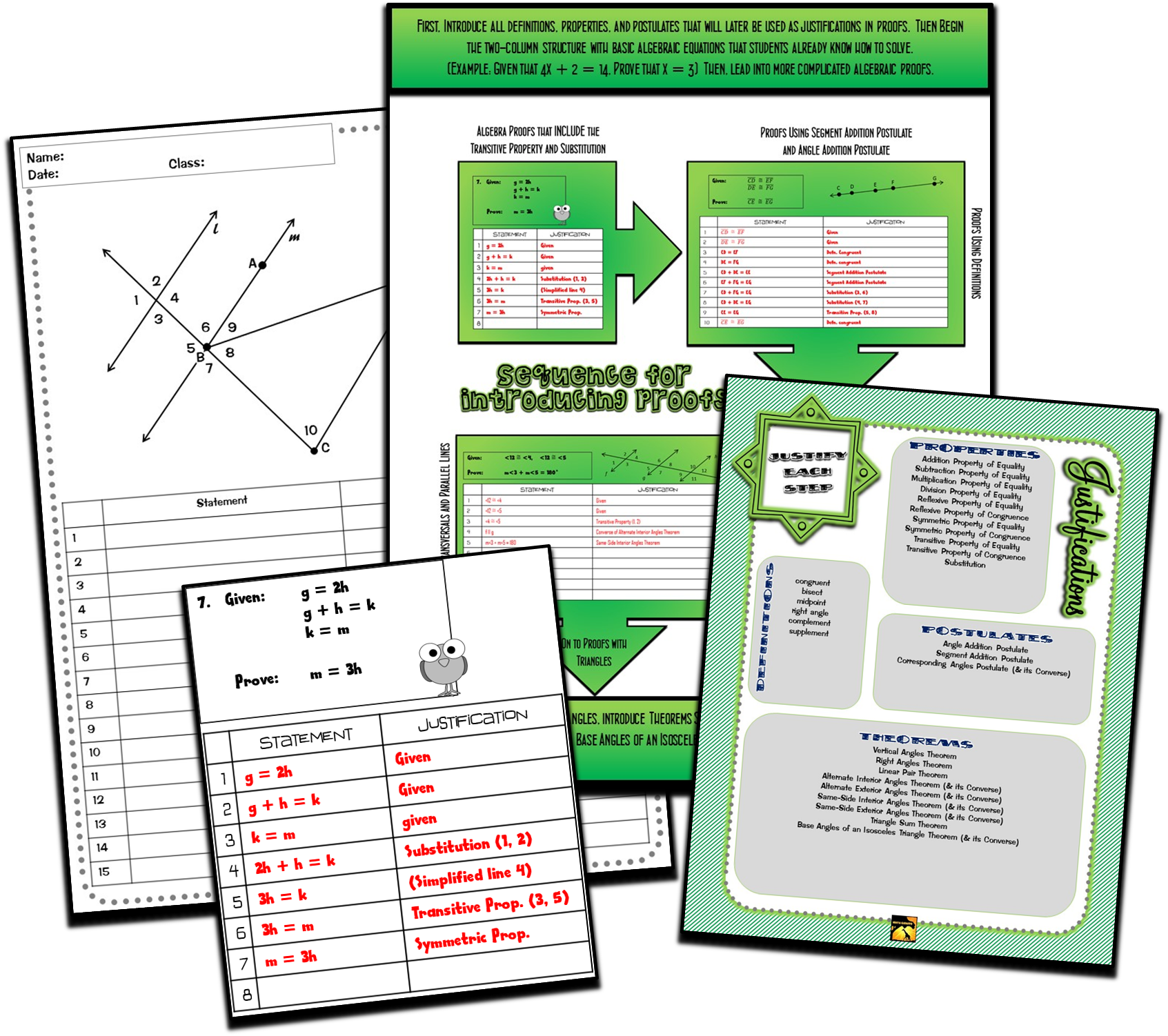 A Bunch Of Great Downloads For Any Geometry Teacher Who