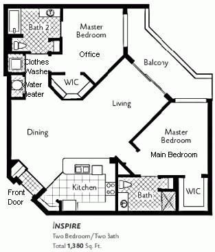 Feng Shui Bedroom Floor Plan feng shui / odd shaped floorplan - how to place bagua | house