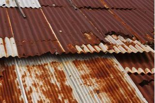 How To Make Roofing Tin Look Old Corrugated Tin Barn Tin How To Rust Galvanized Metal