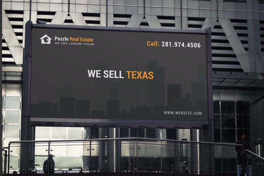 Real Estate Billboard; Real Estate Developer Billboard