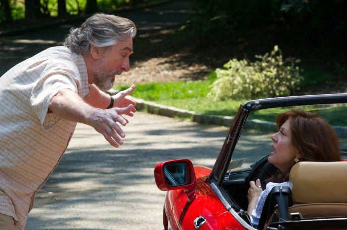 Don (Robert De Niro) hat einen kleinen Disput mit seiner Bebe (Susan Sarandon).  © 2013 Concorde Filmverleih GmbH