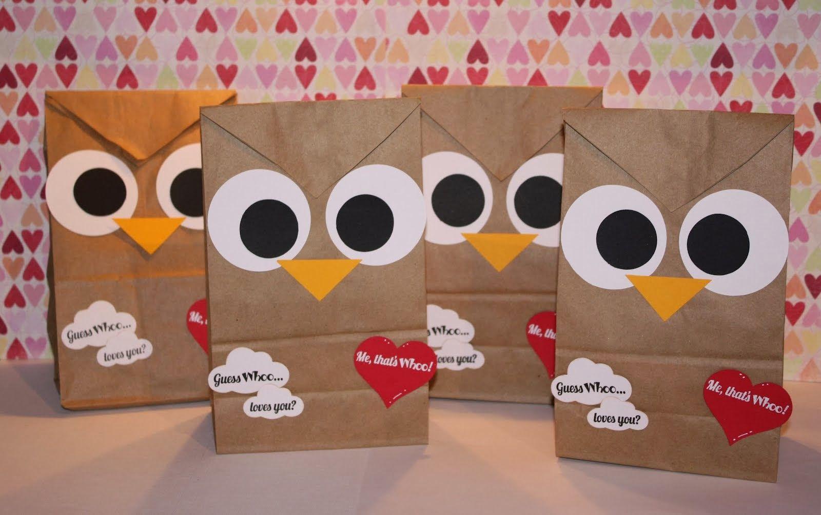 valentine owl craft free preschool crafts - HD1600×1004