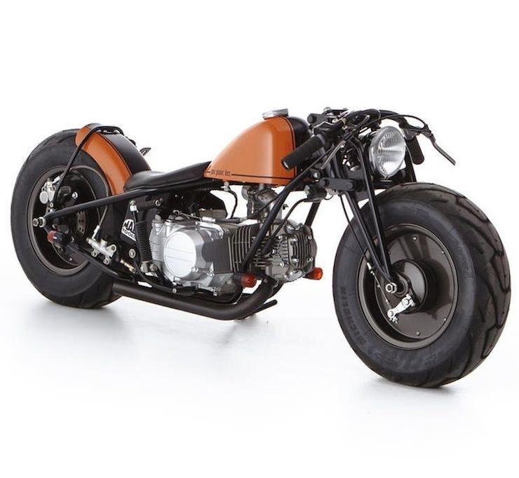 custom honda monkey mini bike motorcycles pinterest. Black Bedroom Furniture Sets. Home Design Ideas