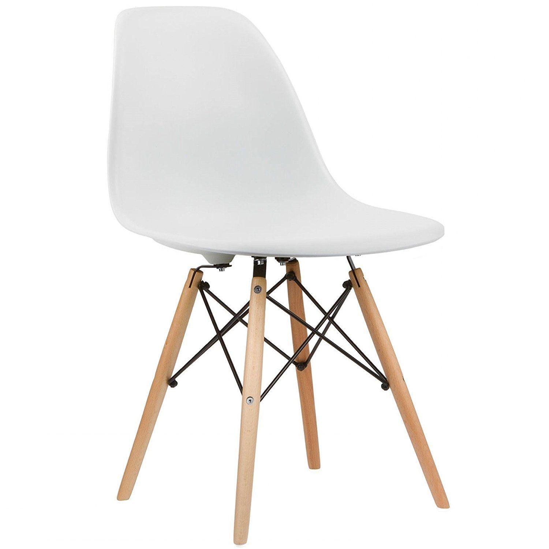 Charles U0026 Ray Inspiriert Eiffel DSW Retro Design Wood Style Stuhl Für Büro  Lounge Küche U2013