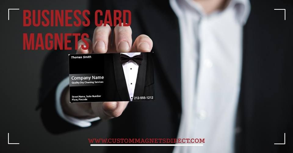 Don T Wait For The Right Opportunity Create It Create Your Own Customized Business Card Magnet Magnetic Business Cards Custom Business Cards Business Cards