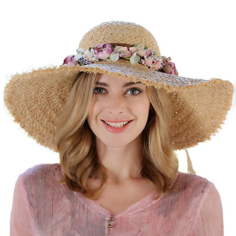 879794673d6de Large Brim Summer Beach Hat For Women in 2018