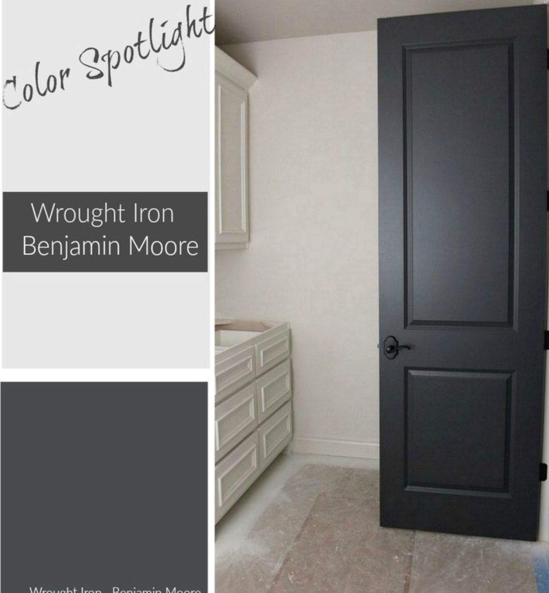 Alternatives To Doors Interiors: I Love This Color Paint For Interior Doors. It's A Nice