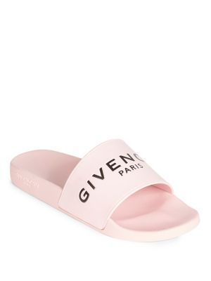 bc26fcacea43 GIVENCHY Logo Rubber Slides.  givenchy  shoes  slides