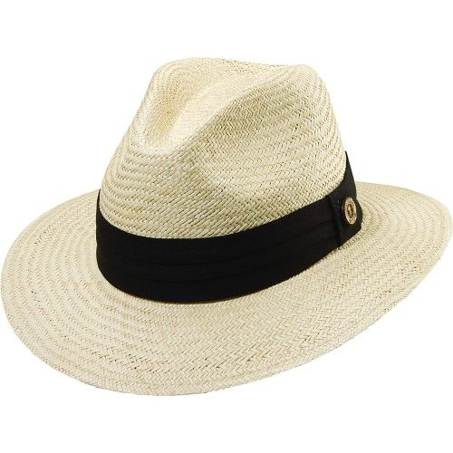 Tommy Bahama Headwear Panama Safari Hat with 3 Pleat Band 099537e78f1