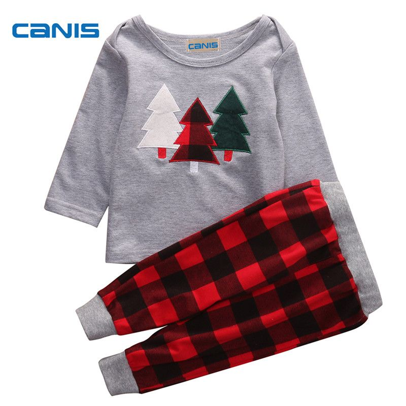 CANIS Newborn Baby Boy Clothes Set Hoodie Tops Pants Leggings
