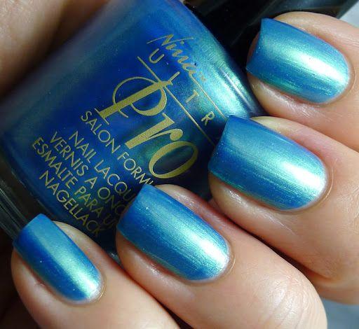 Caribbean Blue Nail Polish