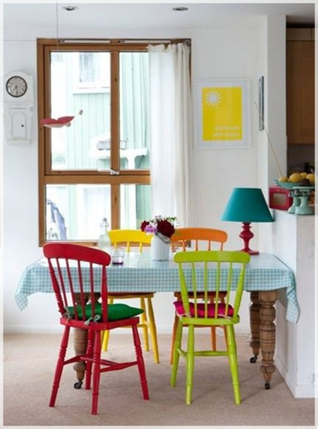 Small dining room ideas with nice colorful concept colorful dining