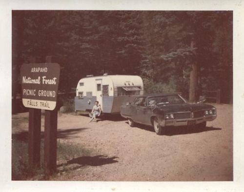 fifties-sixties-everyday-life:  Arapaho National Forest 1960s.