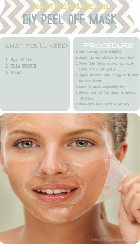 DIY blackhead removal/peel off mask - Click image to find more diy & crafts