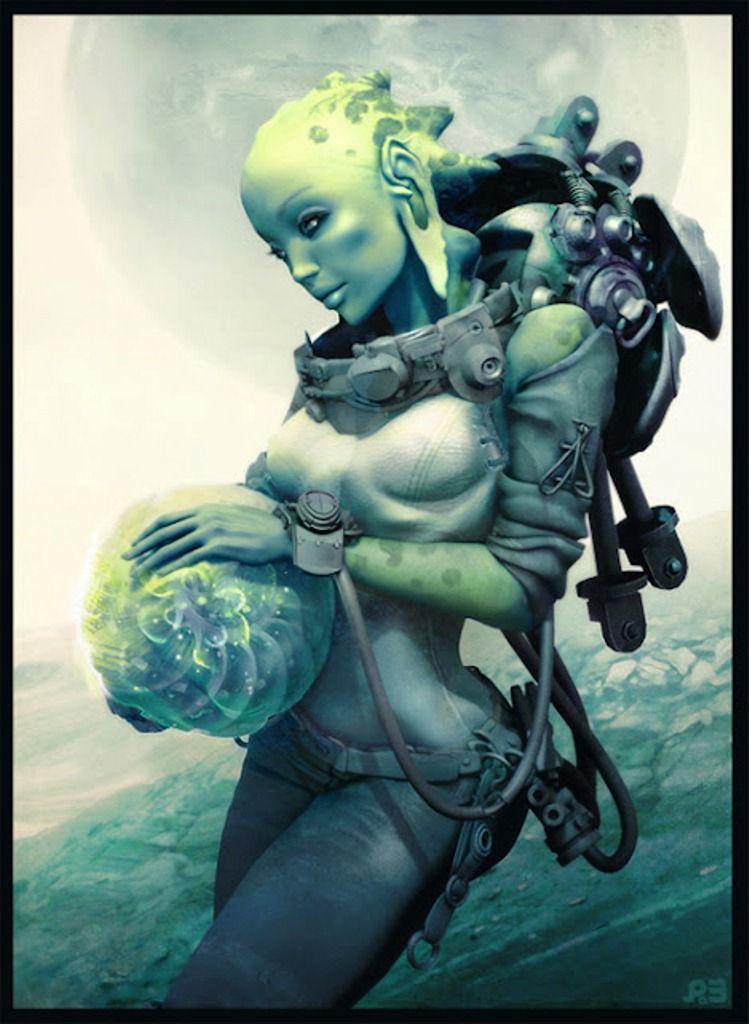 Sexy alien