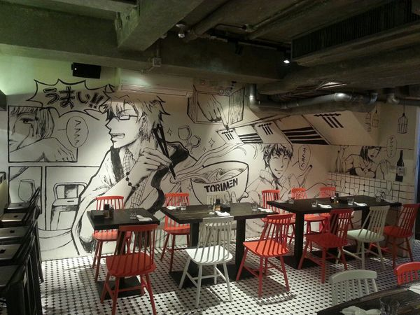Anese Yakitori Ramen Restaurant Ideny Torimenart And Design Inspiration From Around The World Creativeroots