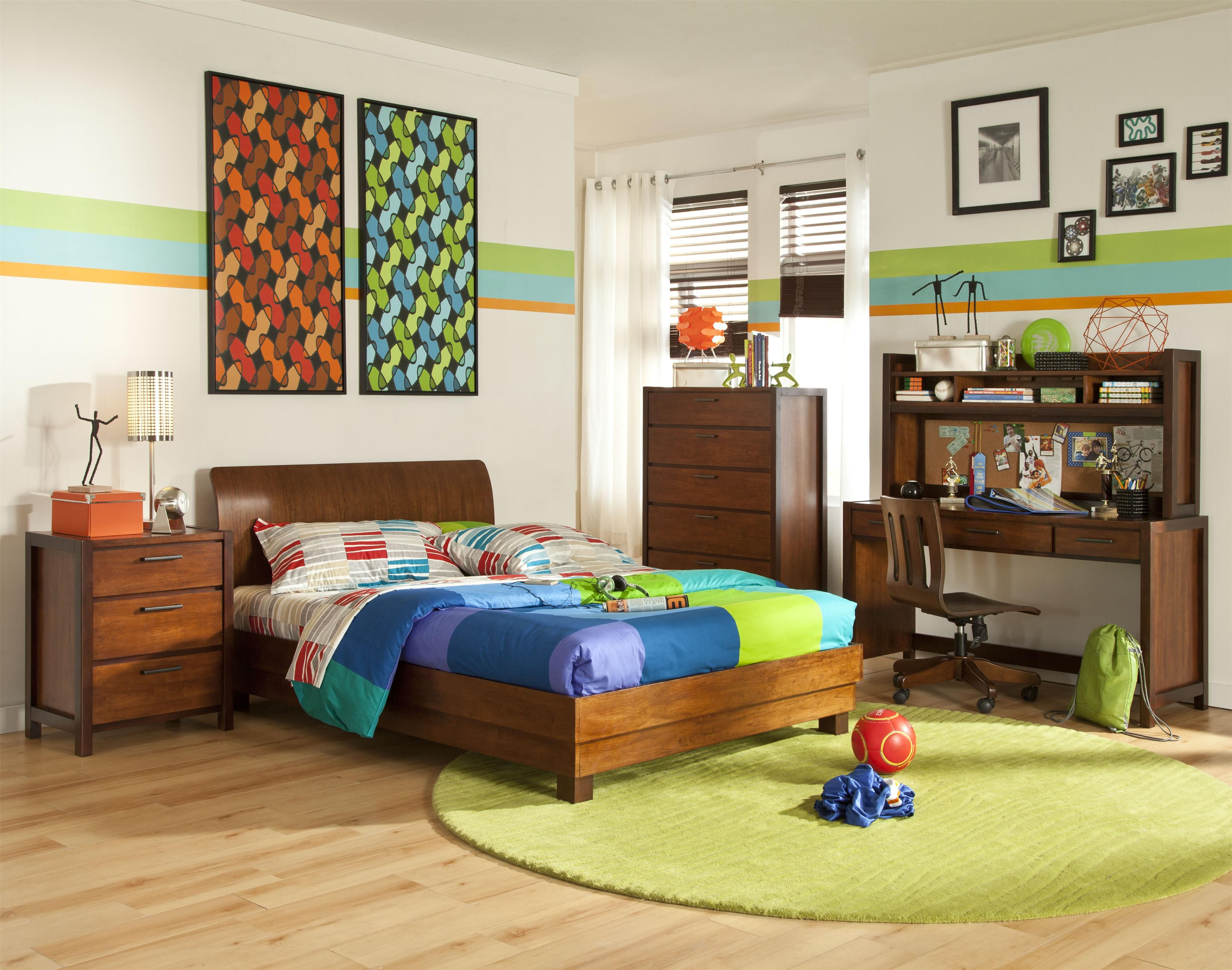 The Eclipse 1 Mid Century Modern Full Size Platform Bed Is Available At Rotmans In Worcester Ma