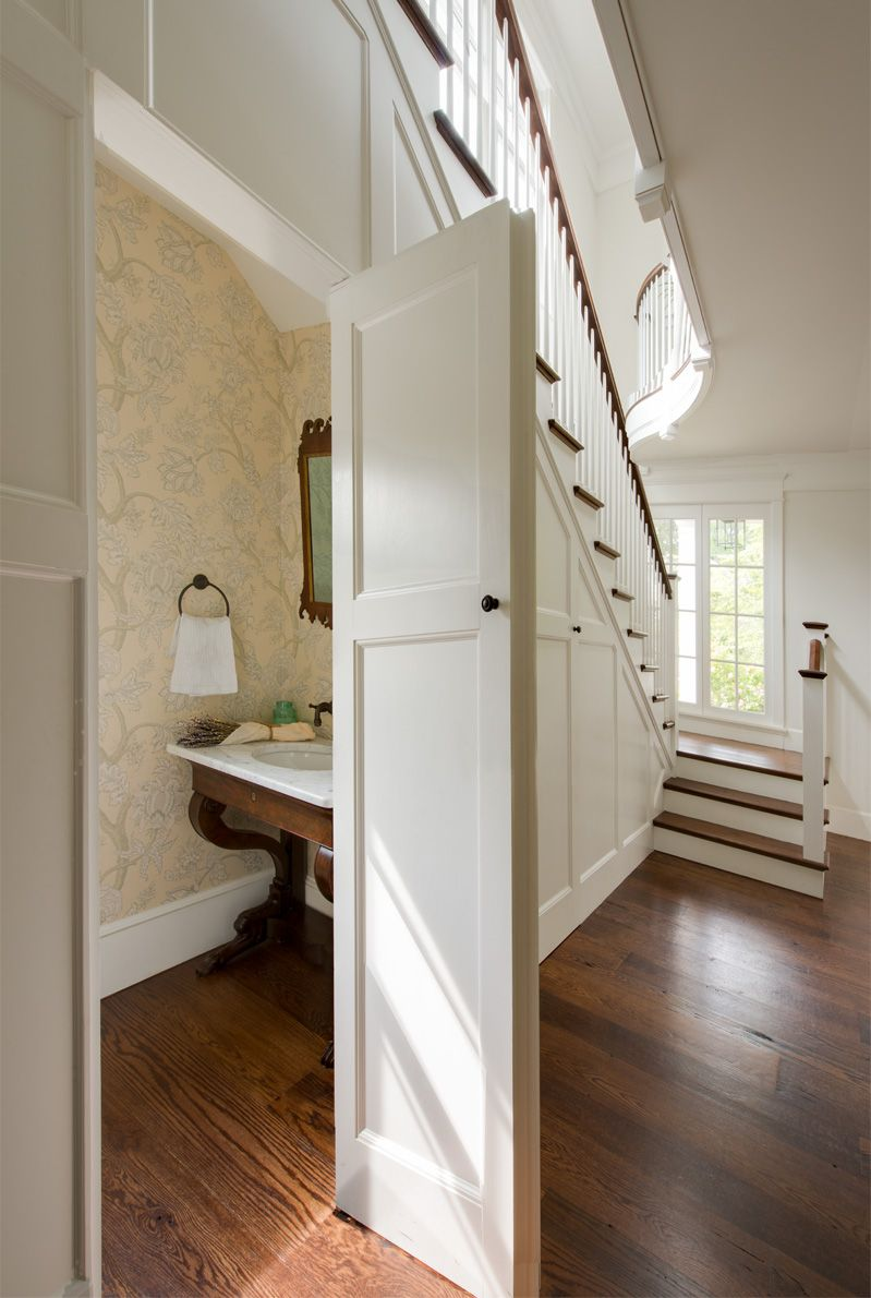 American Home Classic Home In Dc Room Under Stairs Bathroom