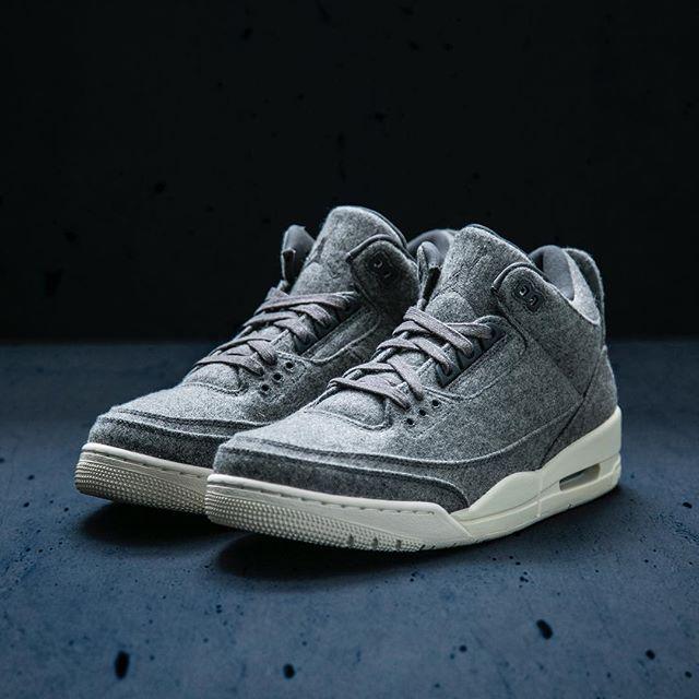 31bfaee009dd20 The Air Jordan Retro 3  Wool  drops Saturday 12 17 at Jimmy Jazz ...