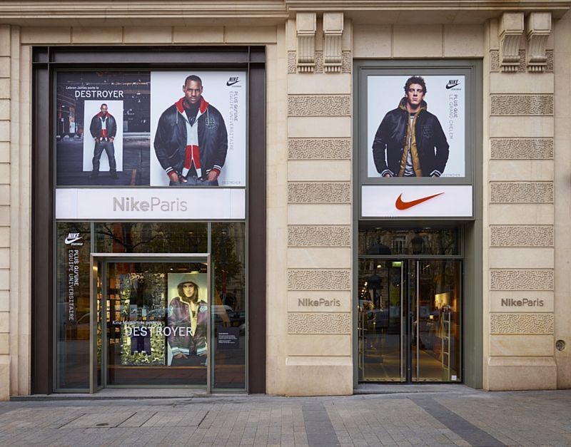 boutique nike nord