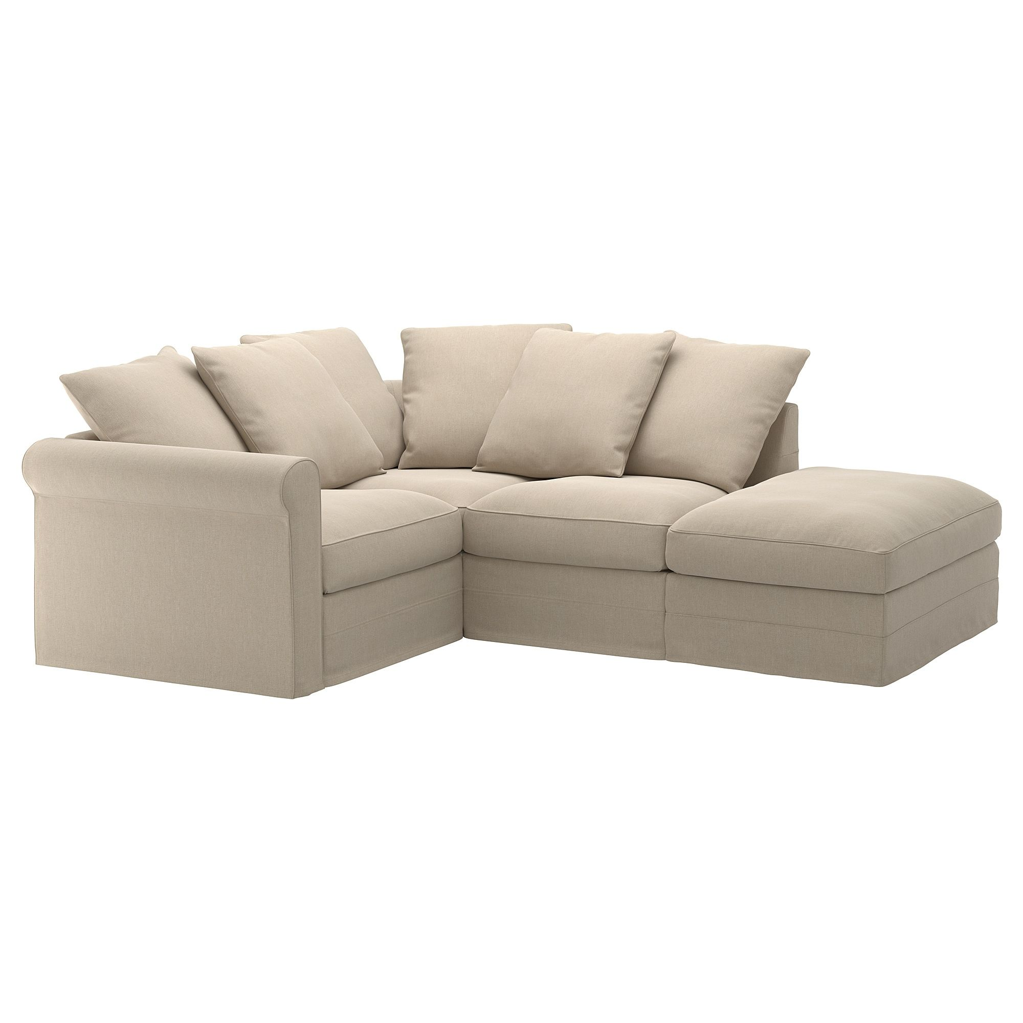 IKEA - GRÖNLID Sectional, 3-seat corner with open end ...