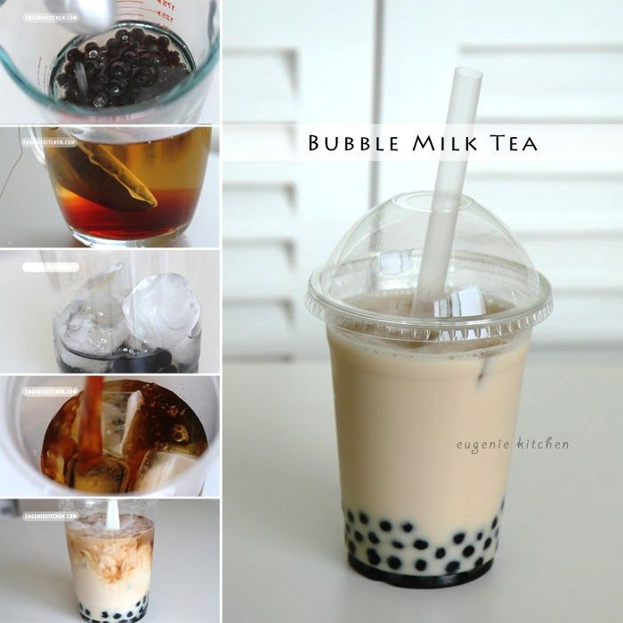 Bubble Tea Milk Tea Coconut Recipe Bubble Tea Recipe Bubble Milk Tea Milk Tea Recipes