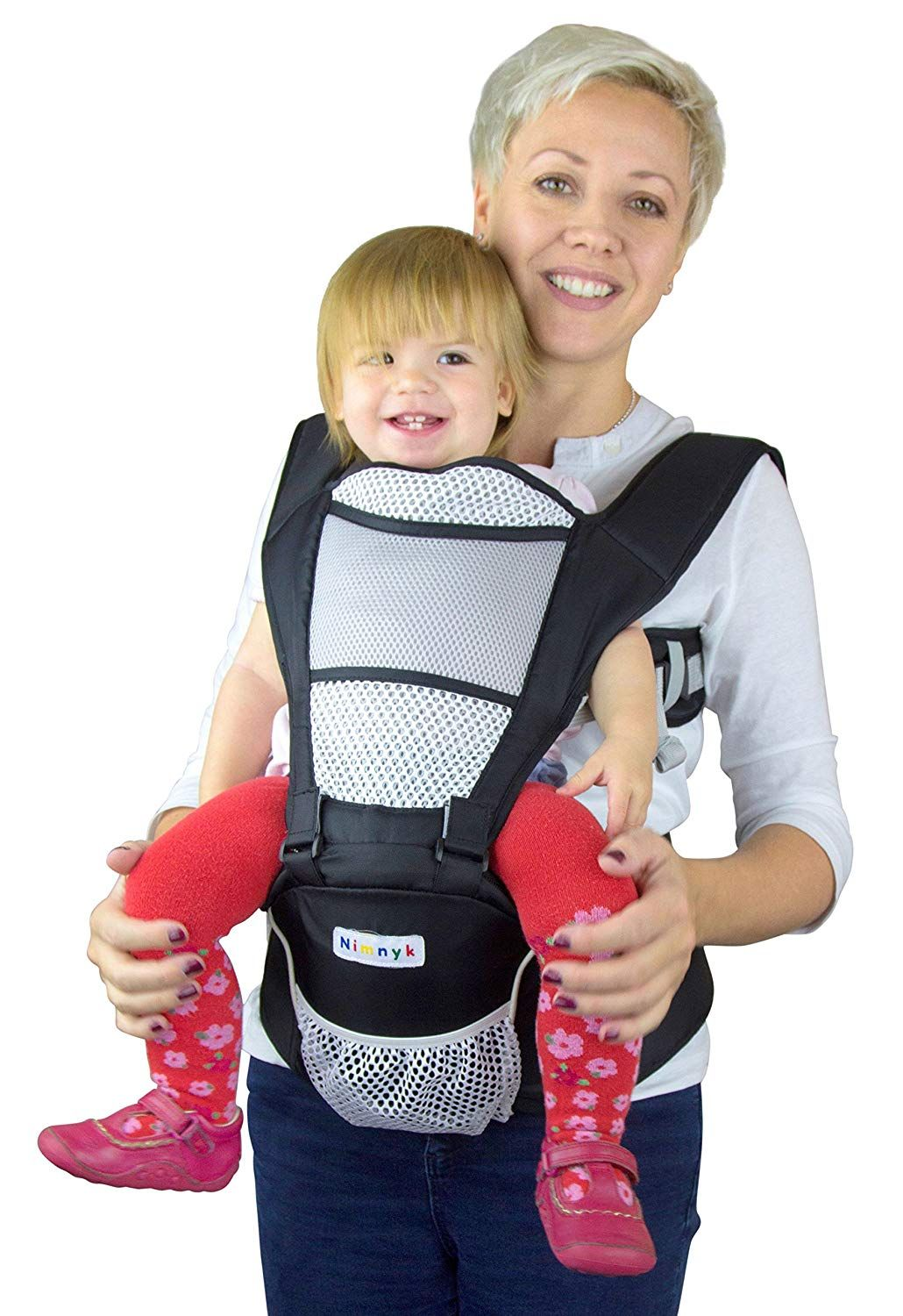 The NimNik Baby Carrier with Hip Seat