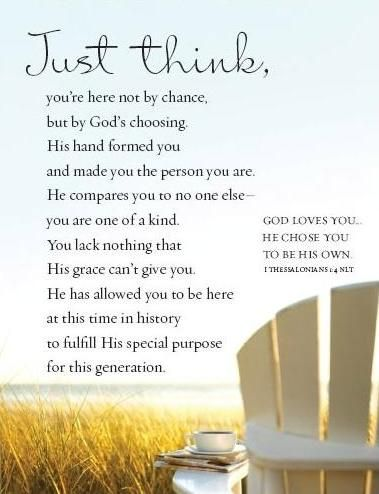 Just Think -- Roy Lessin   God loves you, Encouraging ...