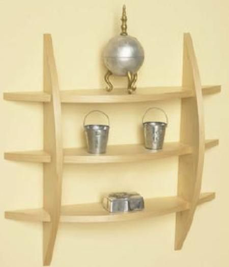Contemporary Wall Shelf Woodworking Plan In 2019