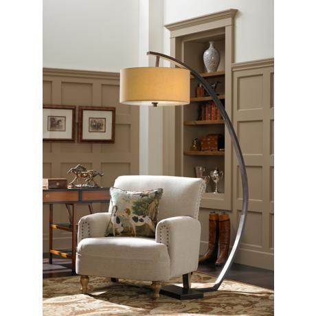 Hanson Arc Floor Lamp | Lamps Plus | Lighting | Pinterest | Floor ...
