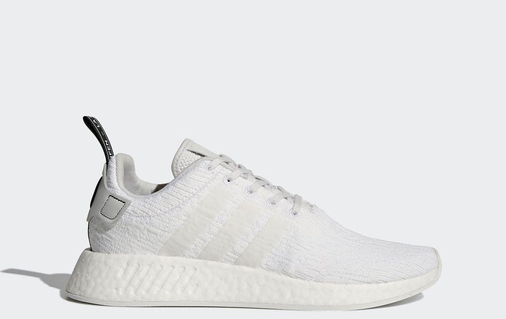 adidas NMD_R2 Shoes Men's White