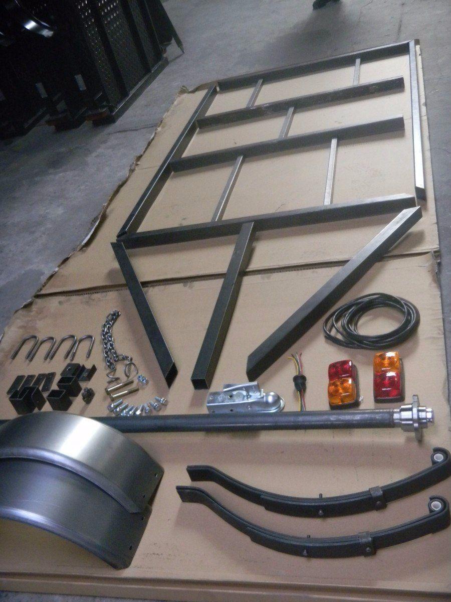 Planos Para Fabricar Trailer Acoplados O Batan 95 00 En Mercado Libre Remolque Para Carro Remolques Remolque Para Motocicleta