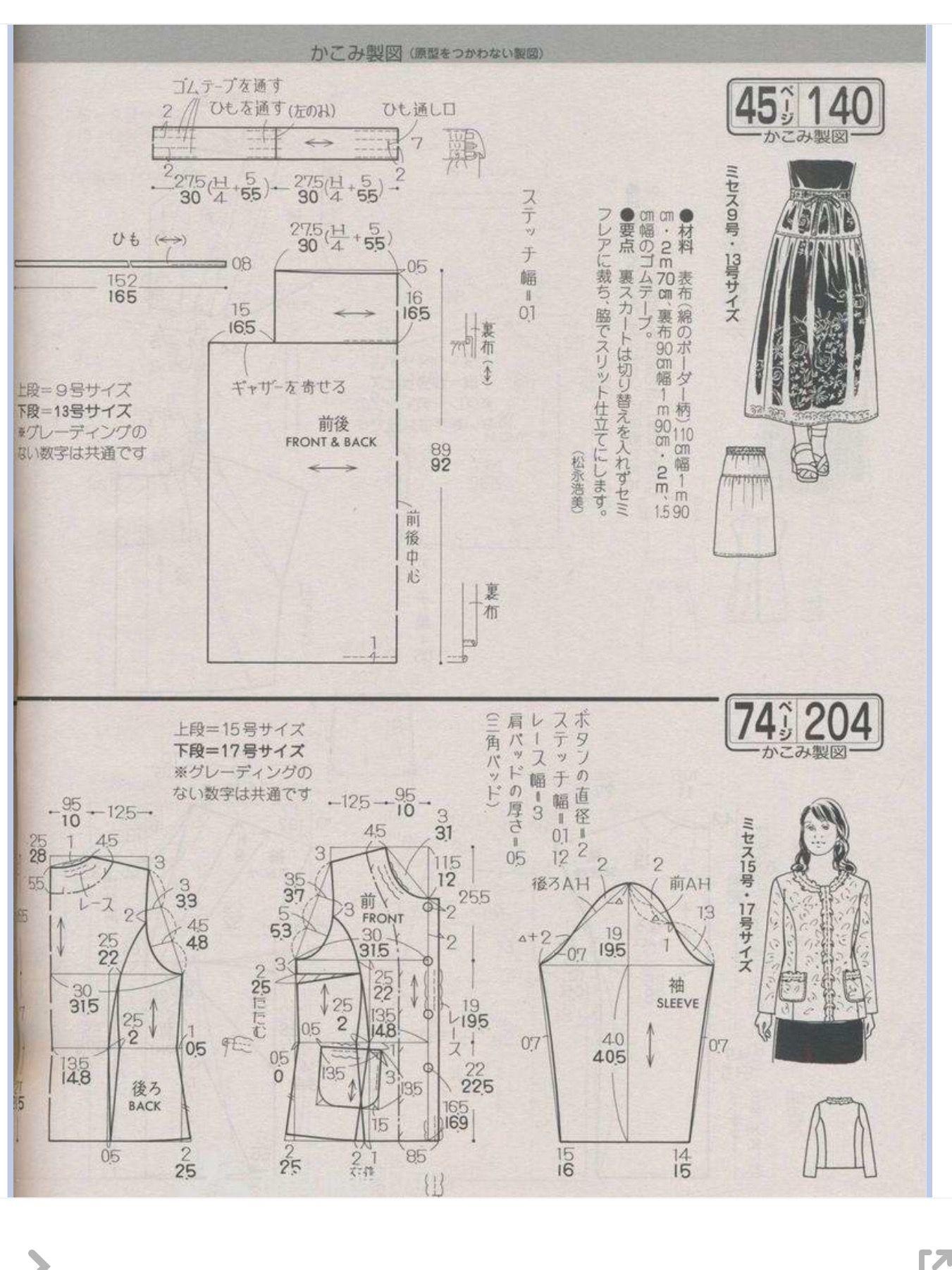 Pin de Chung Chiang Tai en 裙子 | Pinterest | Patrones faciles ...