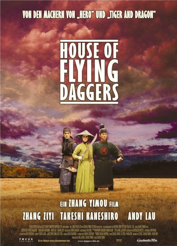 House Of Flying Daggers 2004 Girl Bad And The Cinematography
