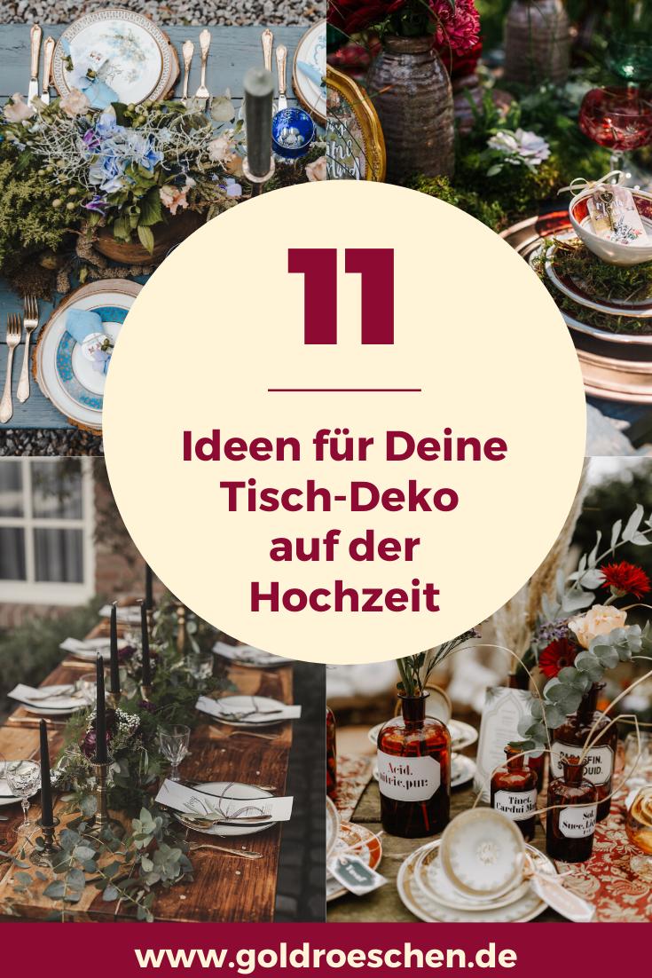 Die Schonsten Tisch Deko Trends 2020 Fur Deine Hochzeit Trauung Hochzeitsfeier Draussen Hochzeit