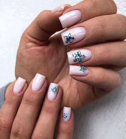 54 ideas long nails design square french in 2020  long