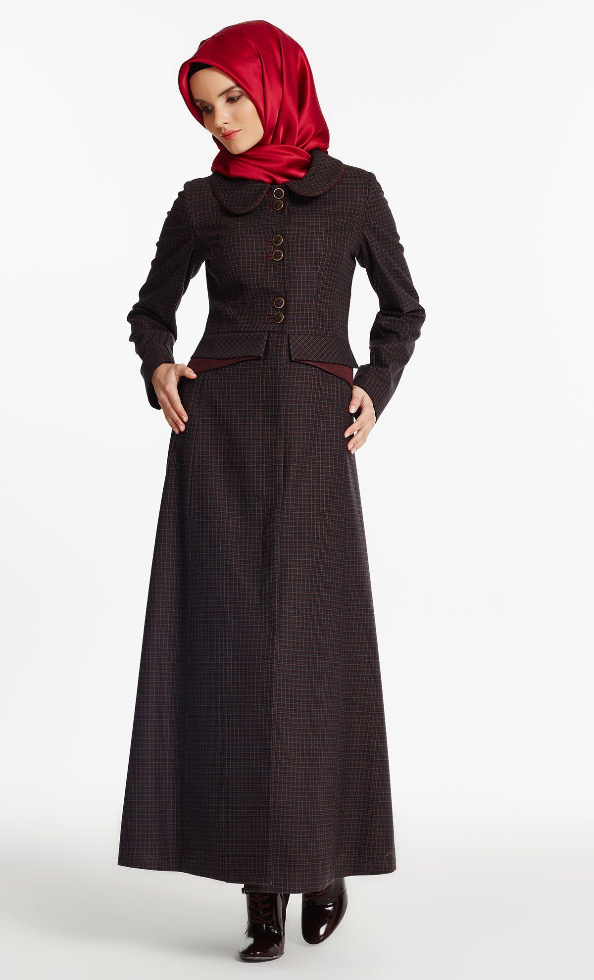 Tugba Store Tesettur Giyim Tesettur Elbise Pardesu Manto Online Alisveris Pakaian Hijab Desain