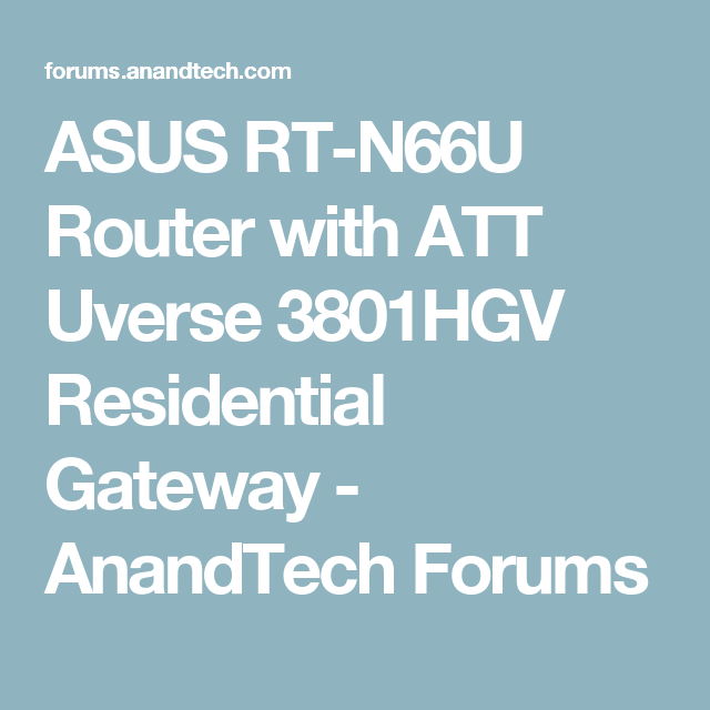 Att Uverse Router 3801hgv - The Best Router 2018