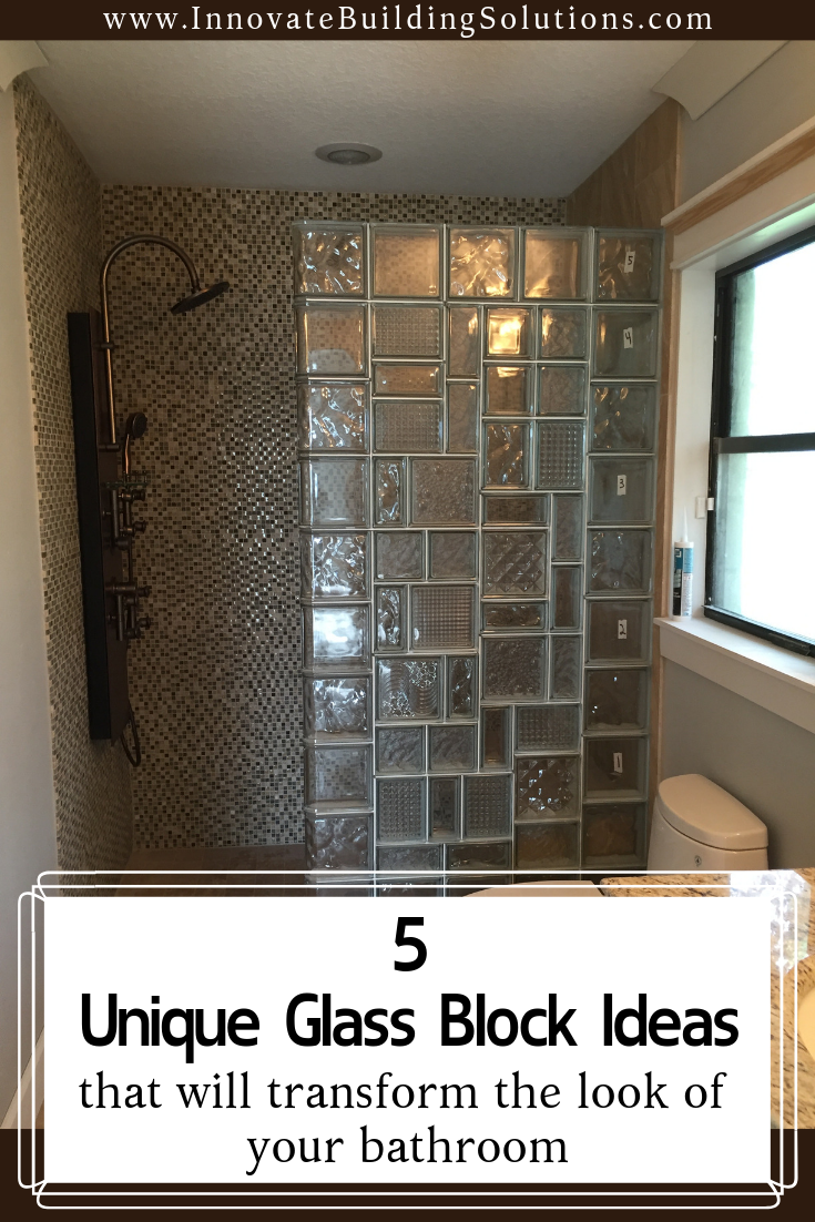 5 Amazing Glass Block Shower Designs With Personality Glass Block Shower Glass Blocks Glass Blocks Wall